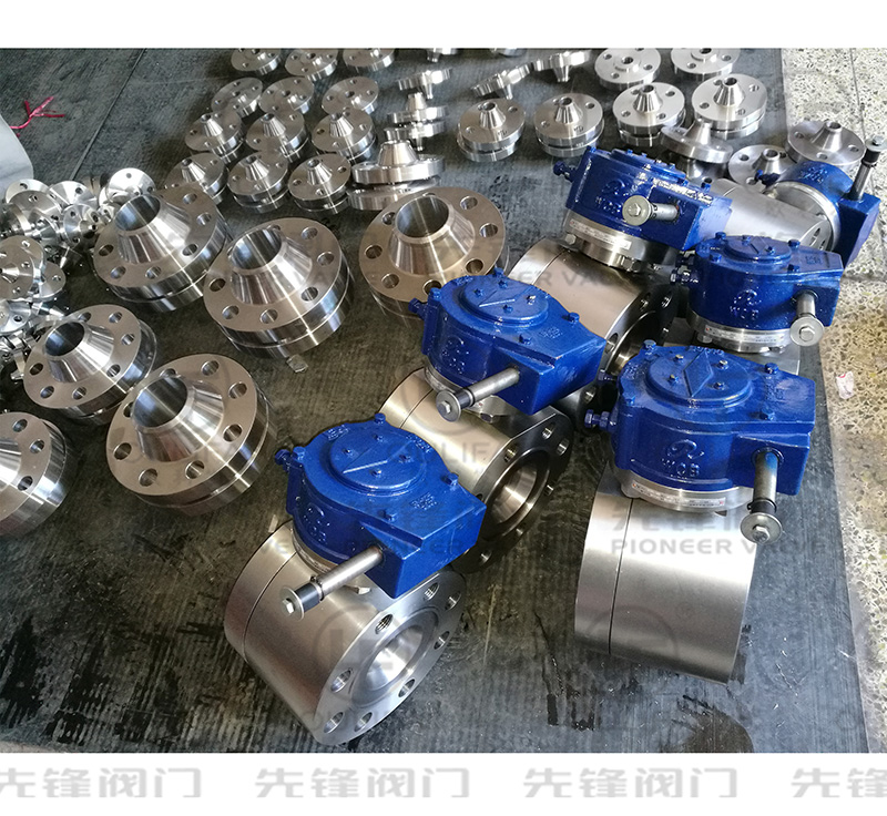 High Pressure Wafer Type Ball Valve is going to export to The End User of The Middle East.