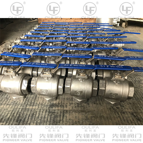 Vertical 3-Way Ball Valve Export For Ship Building