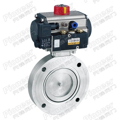 Pneumatic High Vacuum Butterfly Valve GIQ