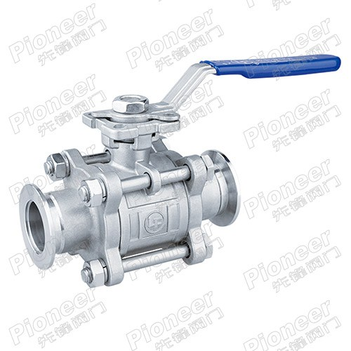 High Vacuum Tri-Clamp Ball Valve GU-25KF