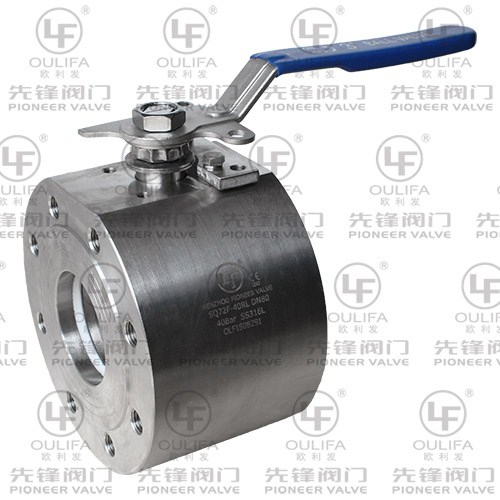 Forged Wafer Type Ball Valve SQ72F-100P