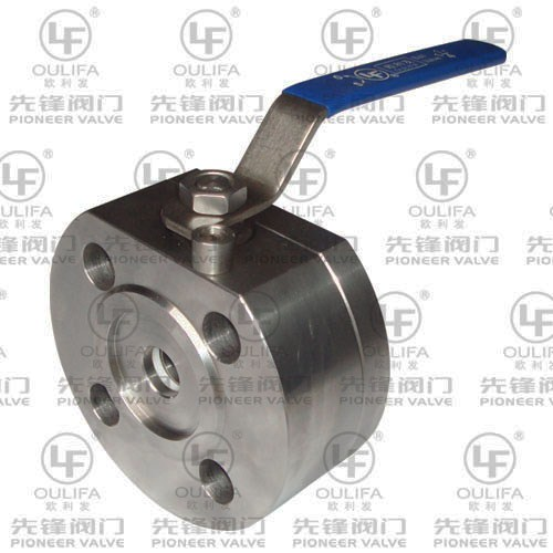 Split Body Wafer Type Ball Valve SQ72F-600Lb