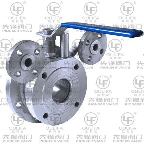 Jacketed Discharge Ball Valve BQ4c1F