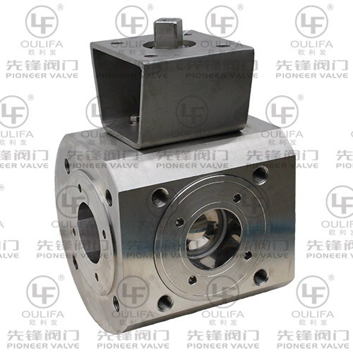 Wafer Type 3-Way Ball Valve XSQ75F-16P