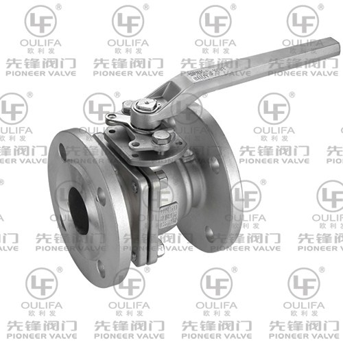 DIN Flanged End Ball Valve  Q41F-16P