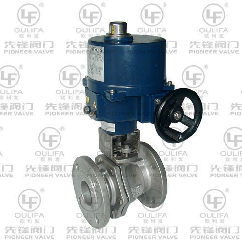 Electric Flanged Ball Valve Q941F