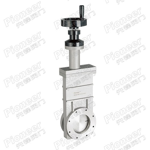 Manual High Vacuum Gate Valve GC