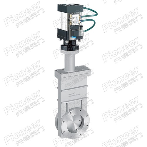 Pneumatic High Vacuum Gate Valve GCQ