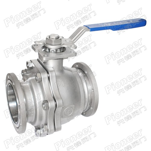 2PC High Vacuum Ball Valve GU-100F