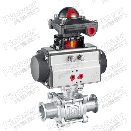 Pneumatic High Vacuum Ball Valve GUQ-32KF