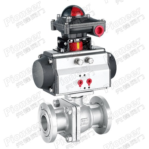 Pneumatic High Vacuum Ball Valve GUQ-40F