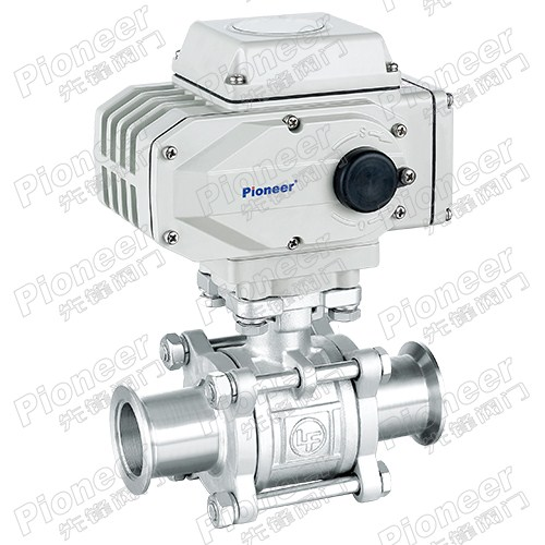 Electric High Vacuum Ball Valve GUD-32KF