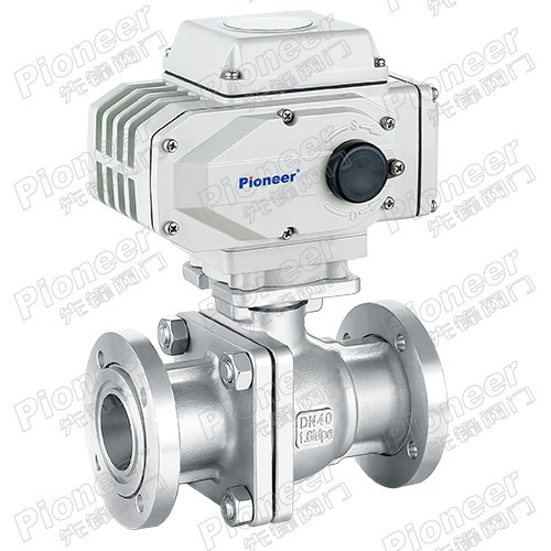 Electric High Vacuum Ball Valve GUD-40F