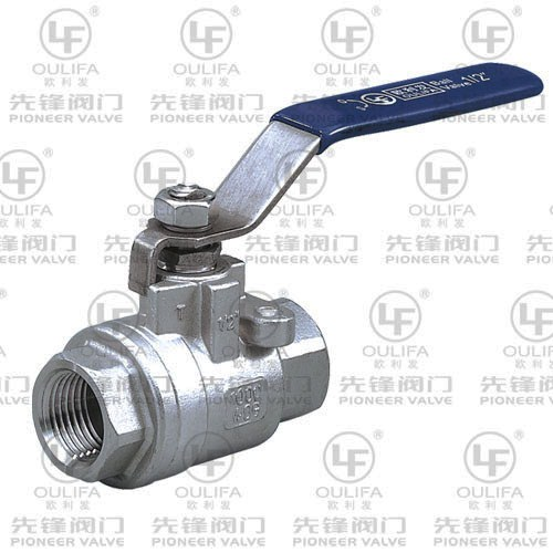 2PC Threaded Ball Valve Q11F-16P