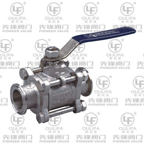 3PC Clamped Ball Valve Q81F