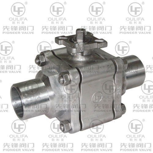 2000PSI Butt-Welded Ball Valve PQ61F