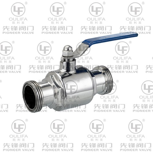 Sanitary Threaded Ball Valve WQ21F