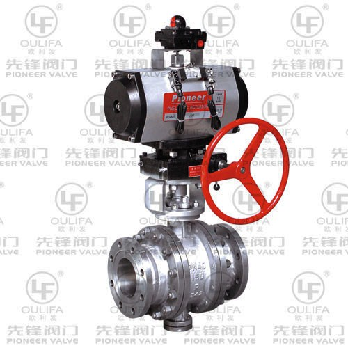 Metal Seated Ball Valve Q647Y