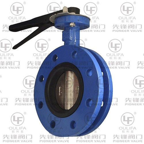 Flanged Butterfly Valve D41X
