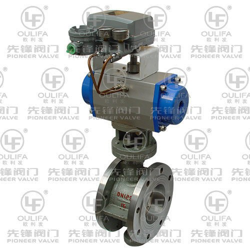 Pneumatic Metal Sealed Butterfly Valve D643H