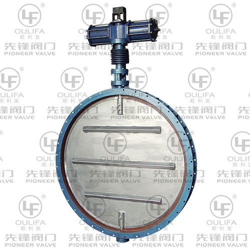 High Temperature Ventilation Butterfly Valve QD641Lw-1