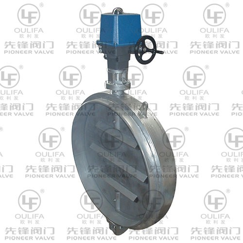 High Temperature Ventilation Butterfly Valve QD941Lw-1