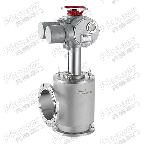 Electric Motorized High Vacuum Angle Valve GDD