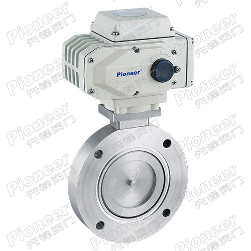 Electric High Vacuum Butterfly Valve GID