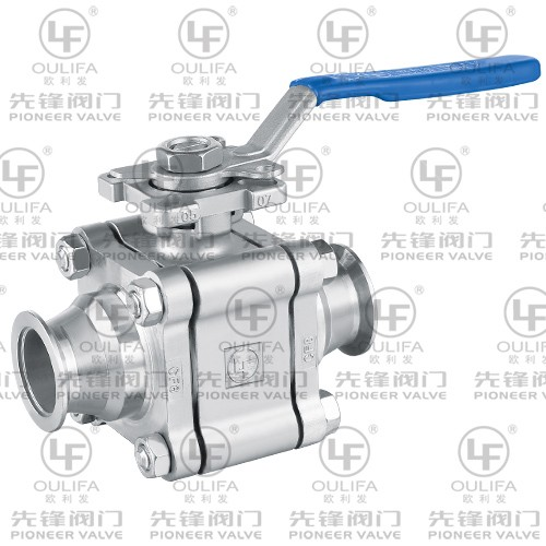 Ball Valve Tri-Clamp PQ81F
