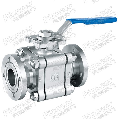 High Pressure Vacuum Ball Valve GU-F