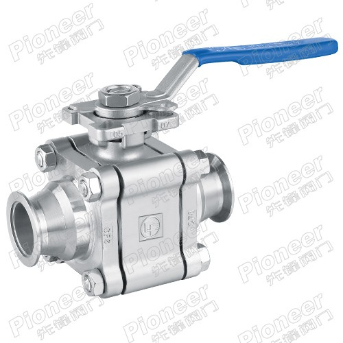 High Vacuum Ball Valve GU-KF
